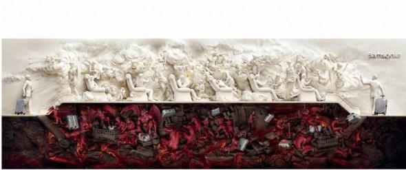 L'enfer du voyage par Samsonite Chine