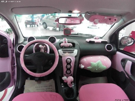 Le ph nom ne hello kitty en chine marketing chine for Deco interieur voiture