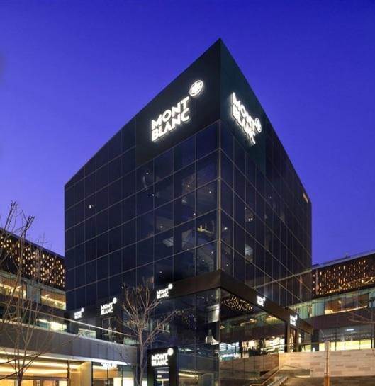 La plus grande boutique MontBlanc du Monde!