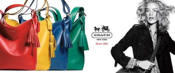 Coach : e-commerce des sacs à main de luxe
