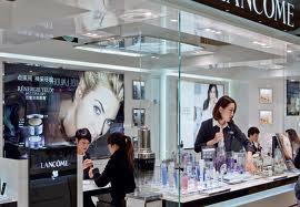 cosmétique Lancôme en Chine