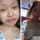 Les chinoises avant et après maquillage …