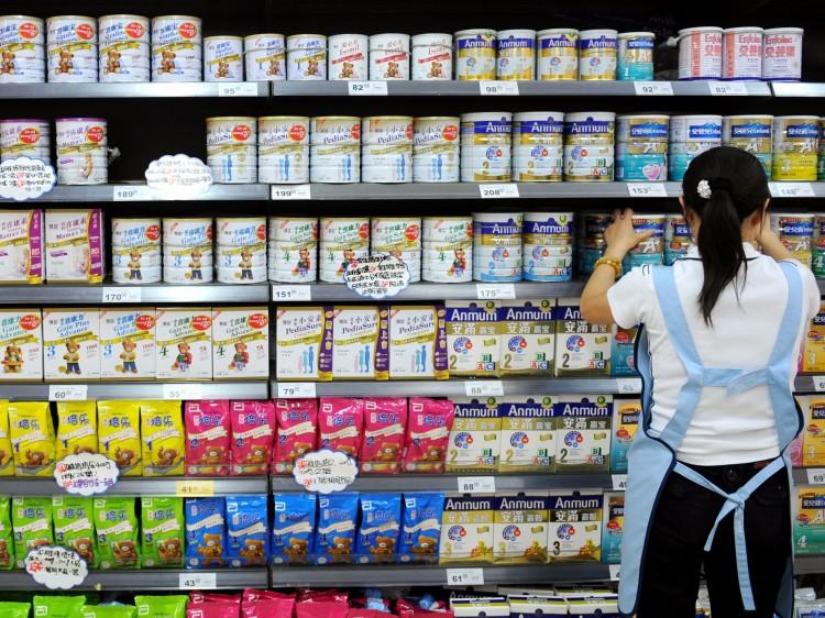 Le marché du lait maternisé en Chine