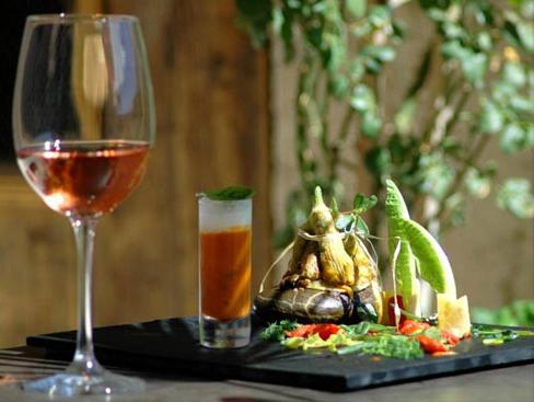 vin et nouriture Provence