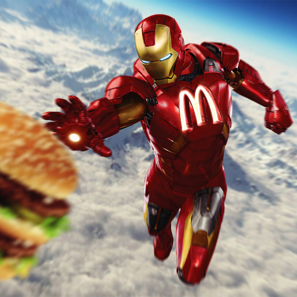Iron Man Mc Do