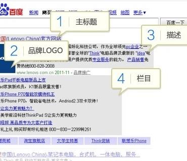 Baidu Brand Zone