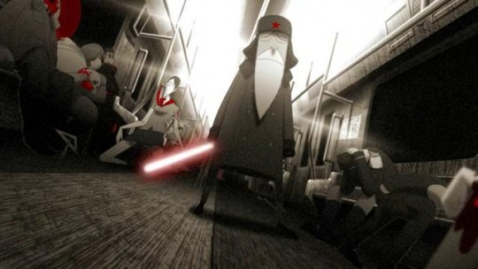 Light Saber SubWars – Magnifique court métrage d'animation