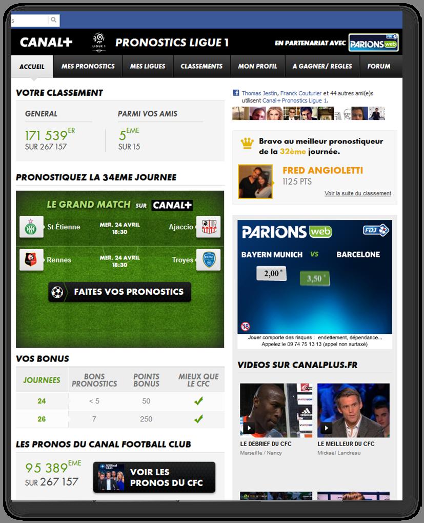 appli Canal +
