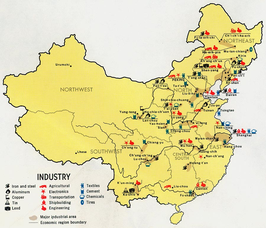 Industrie chinoise