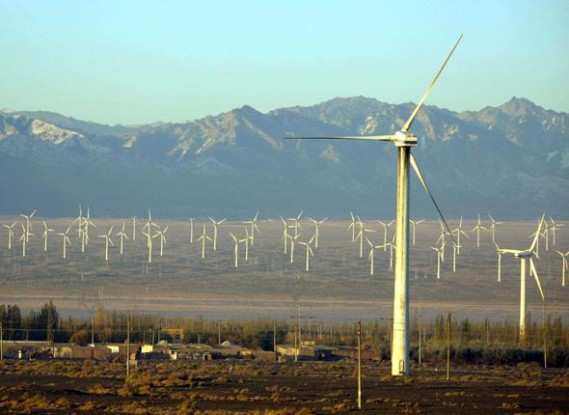 Eoliennes-energie Chine-