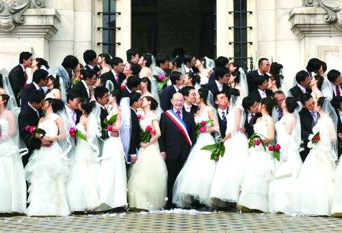 mariages chinois france