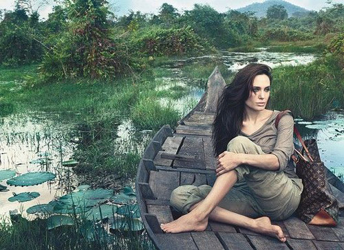 Star Angelina Jolie_Louis Vuitton