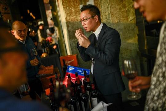 La première dégustation `Mediterroir` à Shanghai
