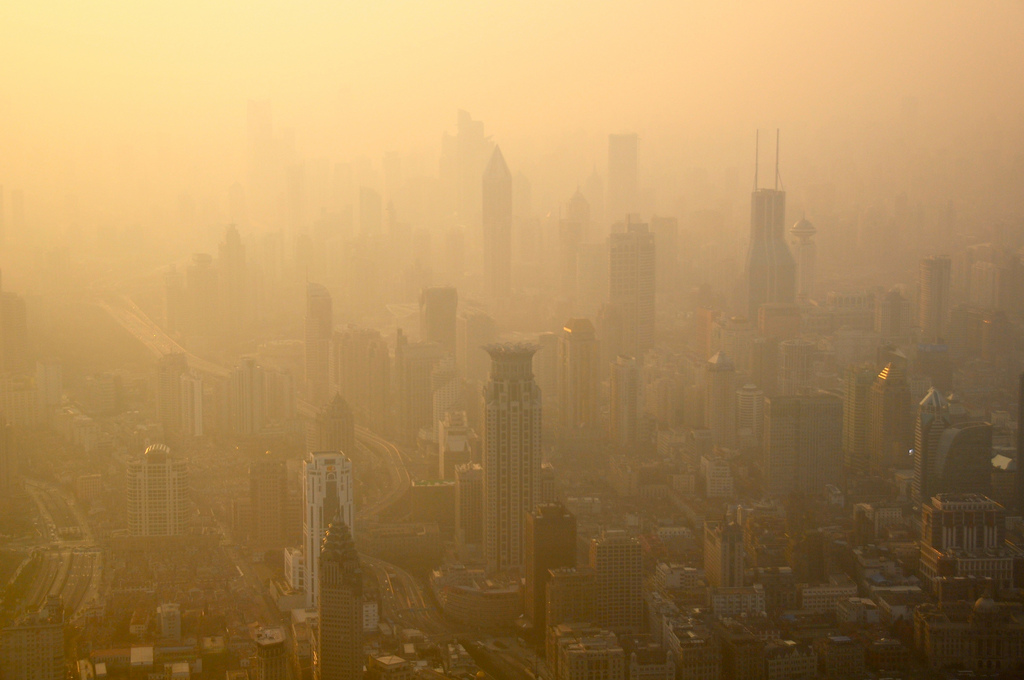 Pollution: Alerte rouge à Shanghai