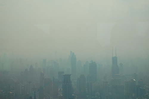 Shanghai ville pollution