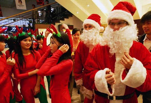 Noël en Chine, shopping et KTV !