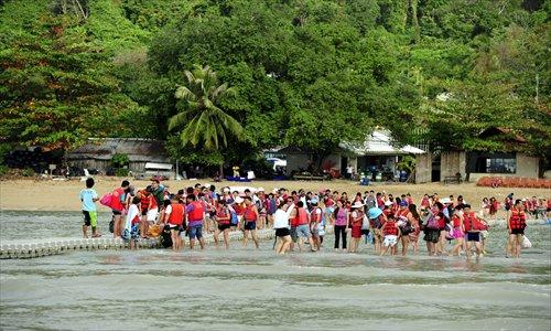 touristes chinois thailande