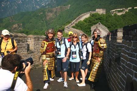 touristes en Chine