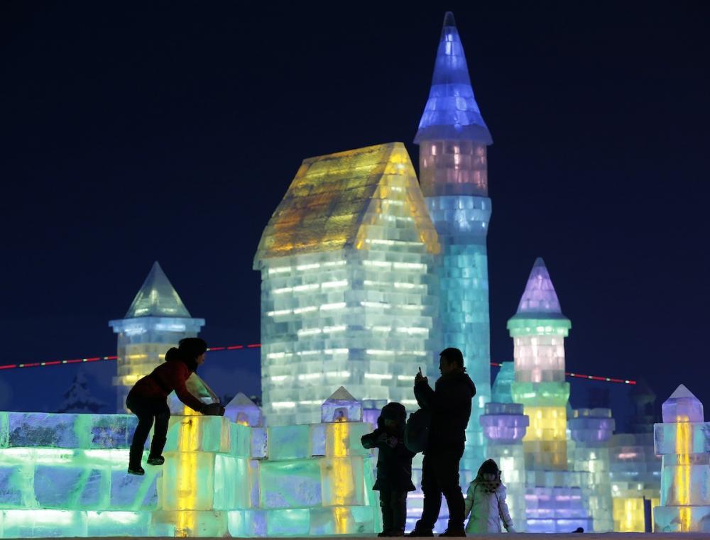 Le festival 2014 de Harbin : le royaume des glaces