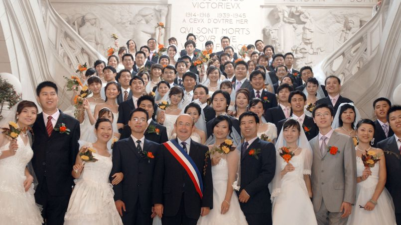 FRANCE-CHINA-TOURISM-WEDDING