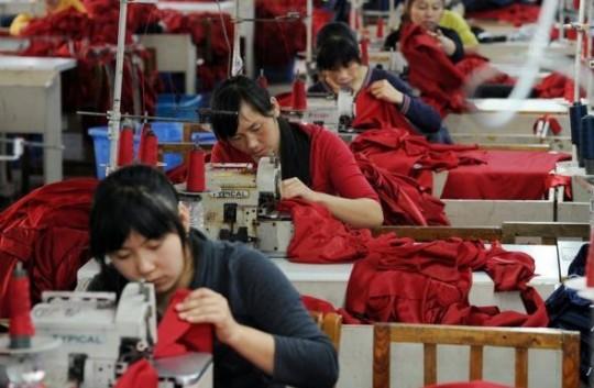 Le marché du textile en Asie