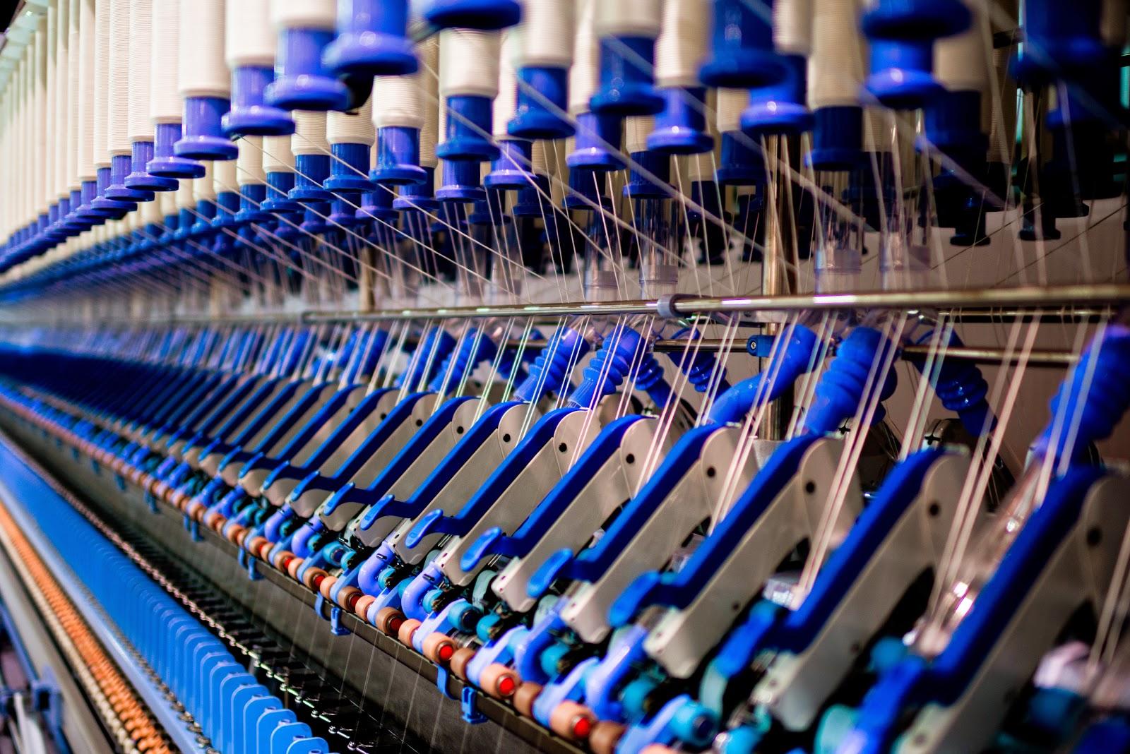 La place de la Chine dans l'industrie textile mondiale