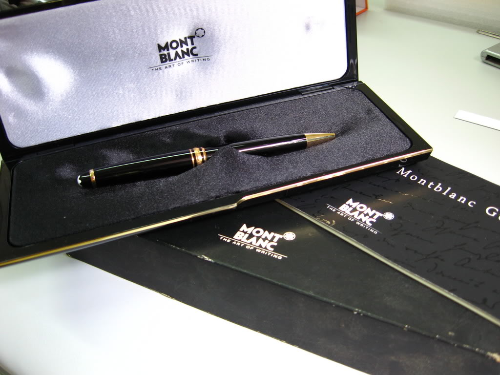 Image Montblanc art of writing
