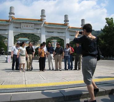 L'afflux de touristes chinois à Taiwan
