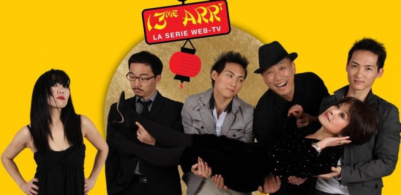 13ème arrondissement première web série asiatique française