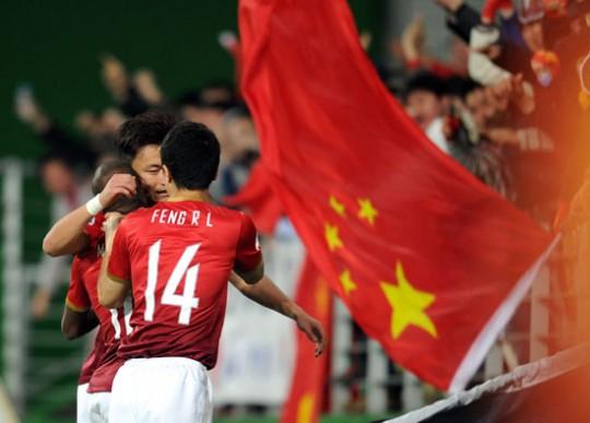 5 news sur le foot chinois
