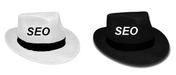 seo white hat black