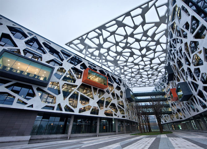 Visite du Campus d'Alibaba, le plus moderne de Chine