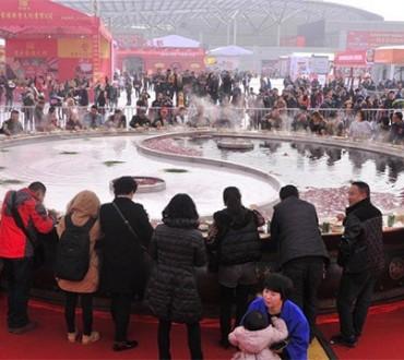 La fondue Chinoise géante de Chongqing
