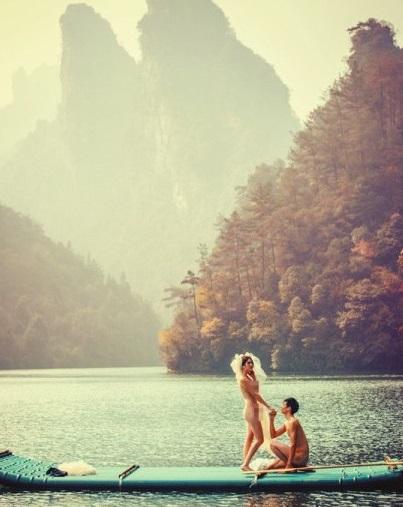 Des photos de mariage chinois inoubliables en Chine