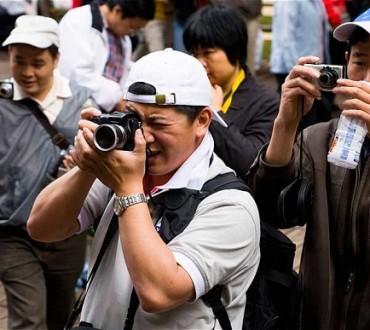 Importance des photos pour les touristes chinois