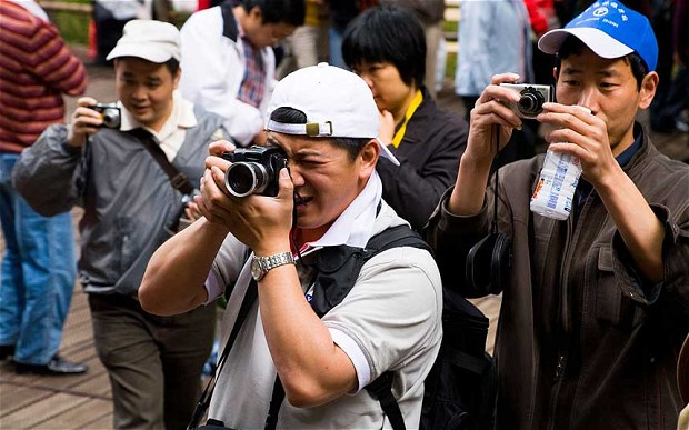 touristes chinois