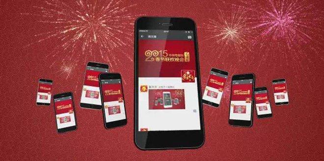 1 milliard de Hongbao ont été échangés sur wechat pendant le nouvel an chinois