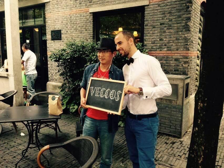VECOOS créé l'évènement à Shanghai : «éveille tes 5 sens»