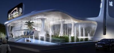La Chine construit les centres commerciaux du futur