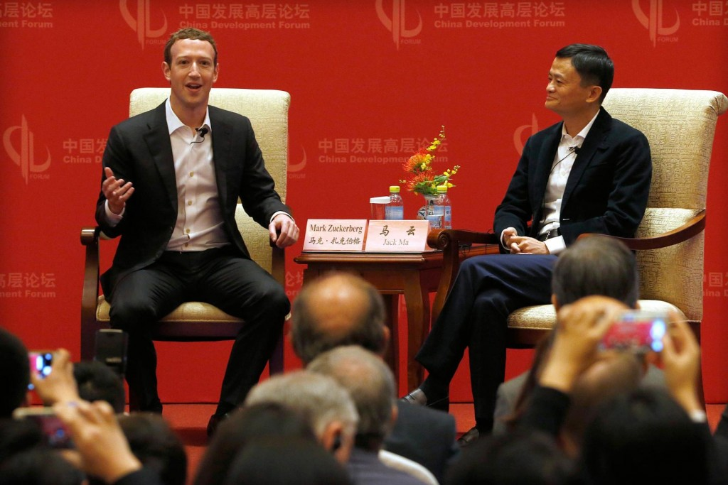 mark zuckerberg en Chine