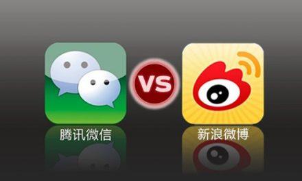 Wechat VS  Weibo