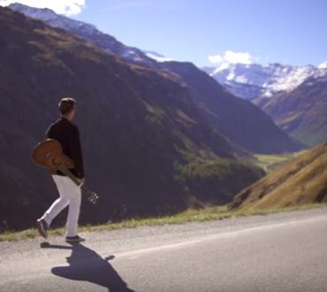 La première chanson chinoise sur les Alpes