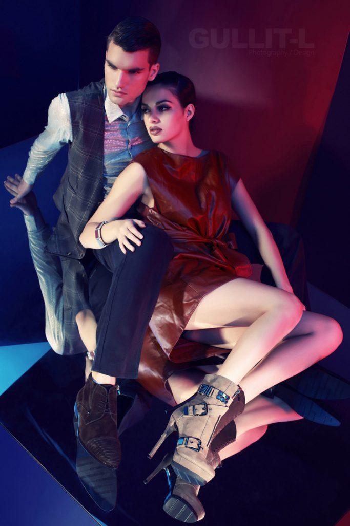 Publicité dans la Chaussure Haut de Gamme en Chine