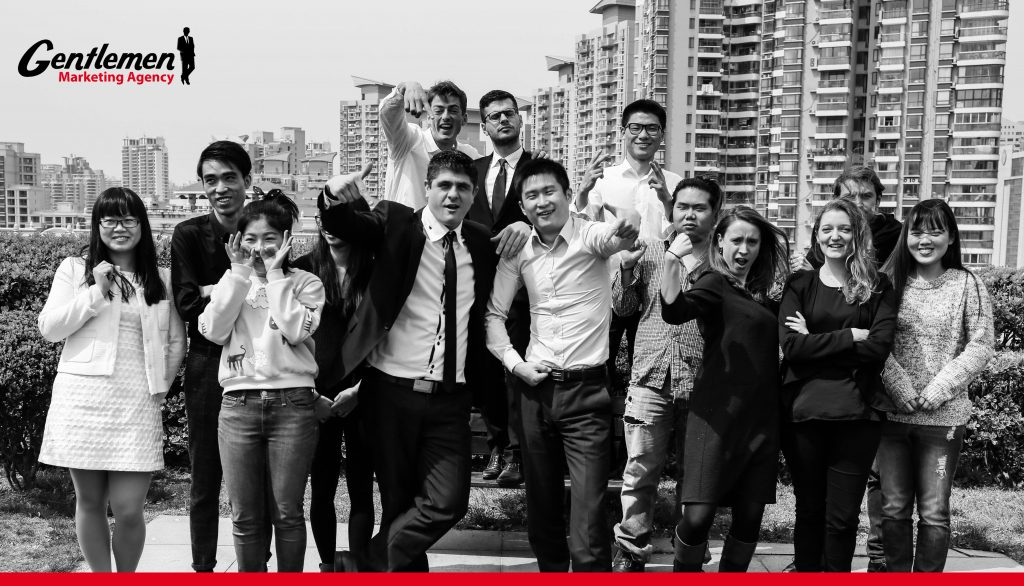 léquipe de la GMA ambiance startup Shanghai