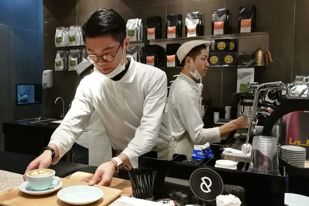 bar à café Shanghai