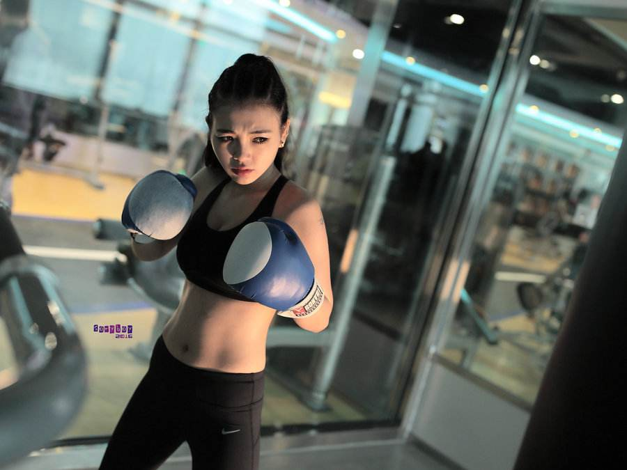 boxe girls only