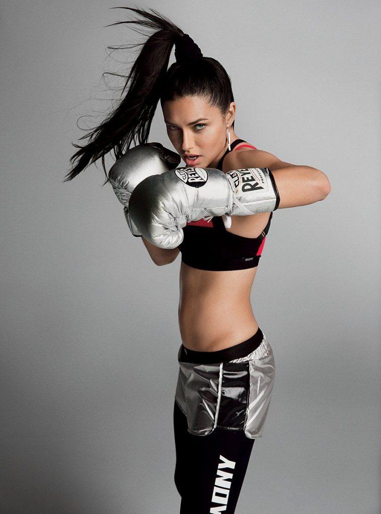 Adriana Lima boxe