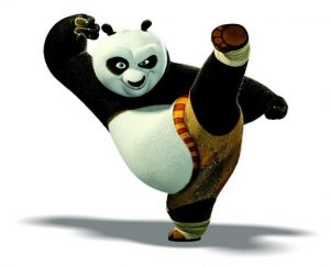 boxe kung fu panda