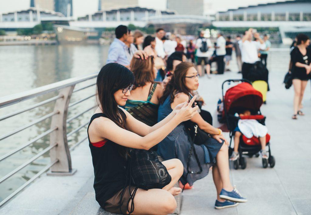 touristes chinois image destination