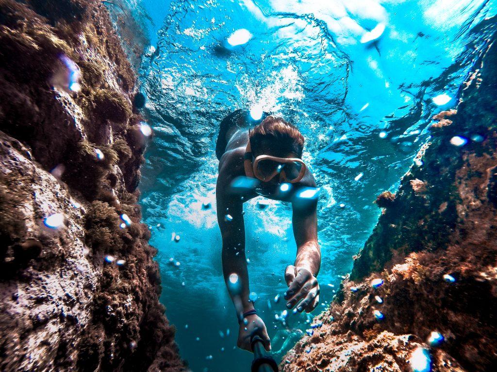 plongée sport extrême